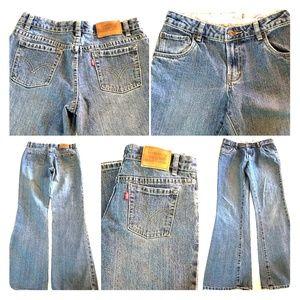 Levi's Girls 517 Stretch Flare Jeans sz 16R